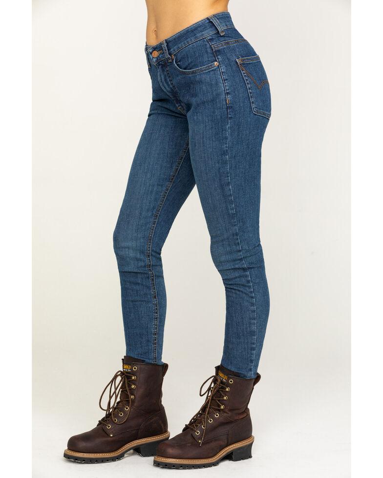 Dickies Women's Perfect Shape Denim Skinny Jeans, Indigo, hi-res