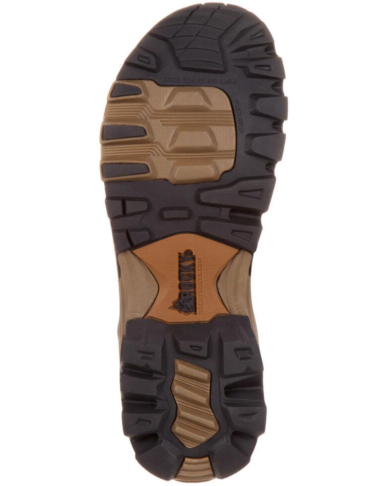 Rocky Men's Endeavor Point Hiking Sandals, Brown, hi-res