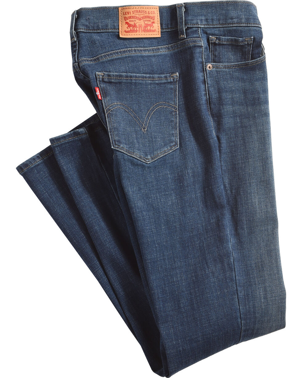 Levi's Women's Classic Straight Leg Jeans , Indigo, hi-res
