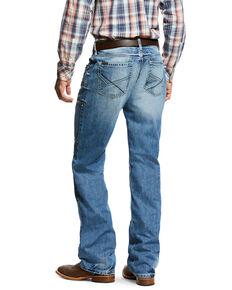 Ariat Men's M4 Alamo Low Rise Bootcut Jeans , Indigo, hi-res