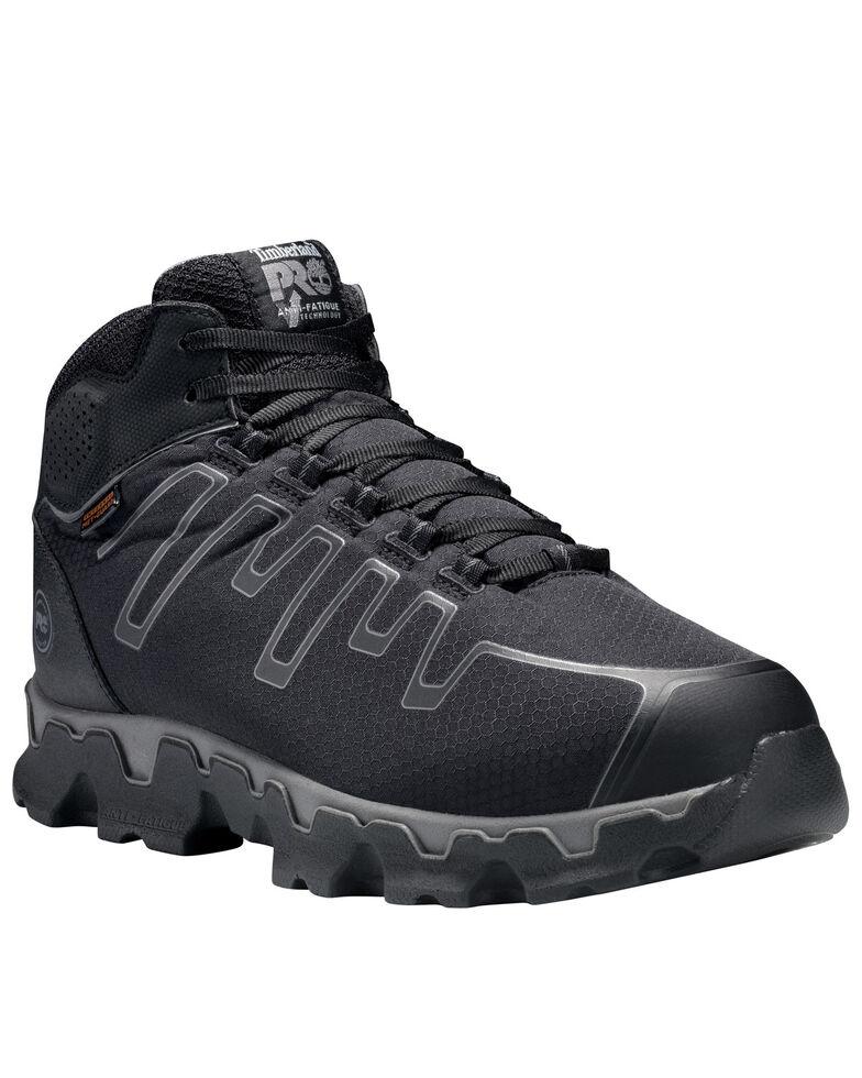 Timberland Men's Powertrain Alloy Toe Ripstop Met Guard Work Boots, Black, hi-res