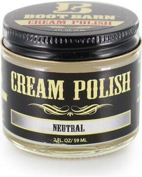 Boot Barn® Leather Cream Polish, Natural, hi-res