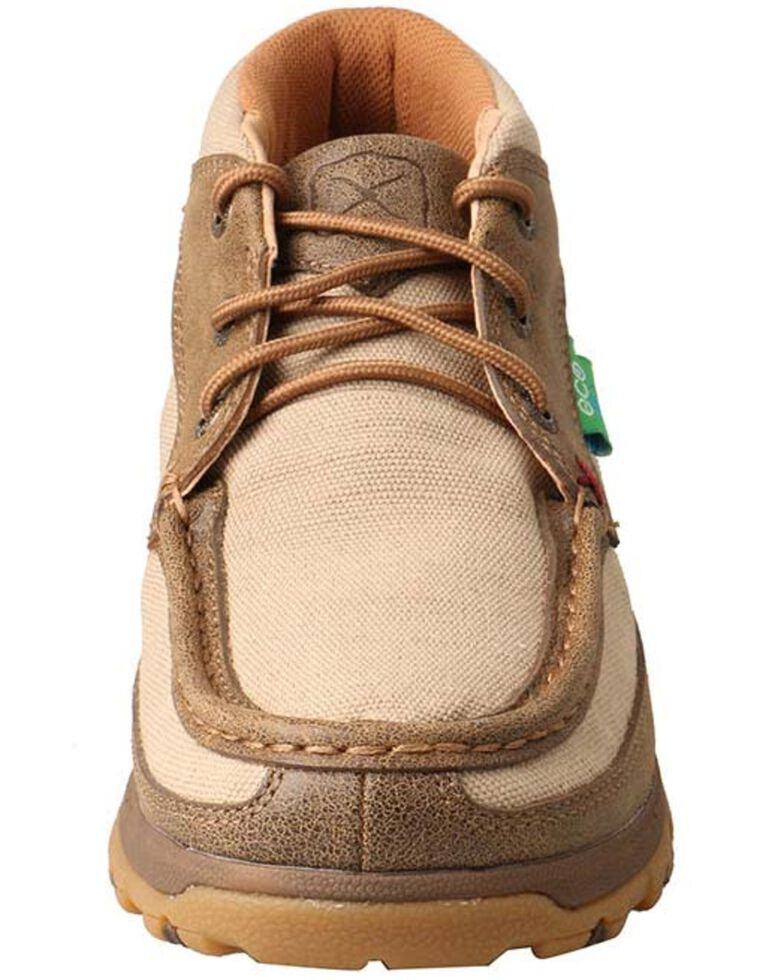 Twisted X Women's CellStretch Driving Shoes - Moc Toe, Beige/khaki, hi-res