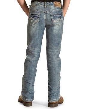 Silver Girls' Tammy Light Wash Jeans - Boot Cut, Indigo, hi-res