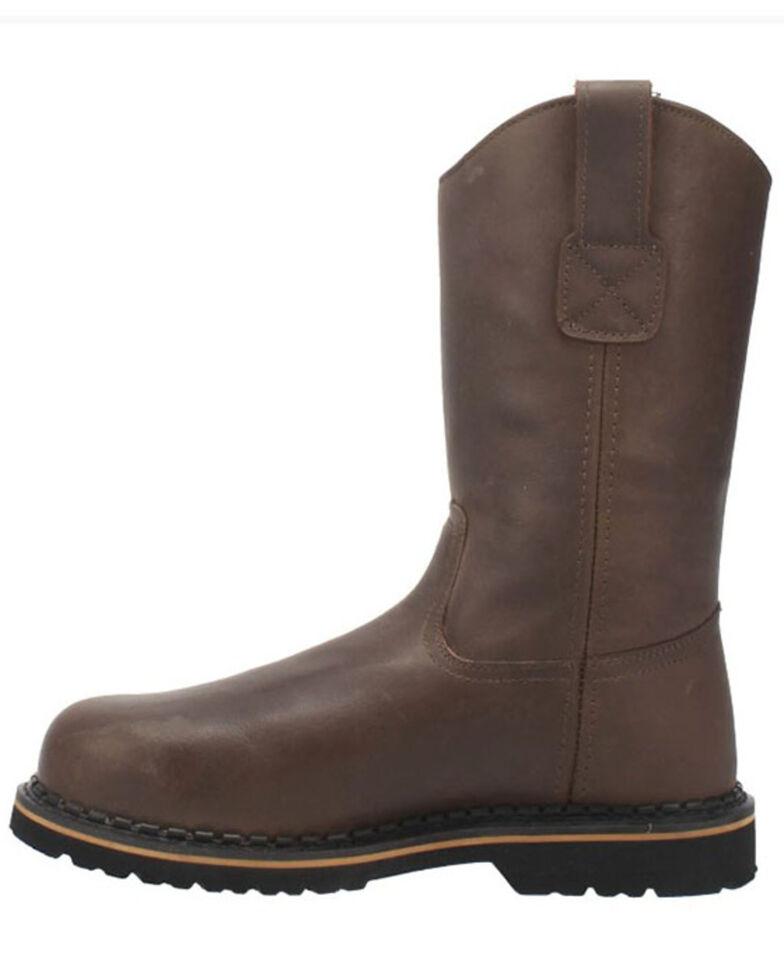 Laredo Men's Rake Western Work Boots - Soft Toe, Brown, hi-res