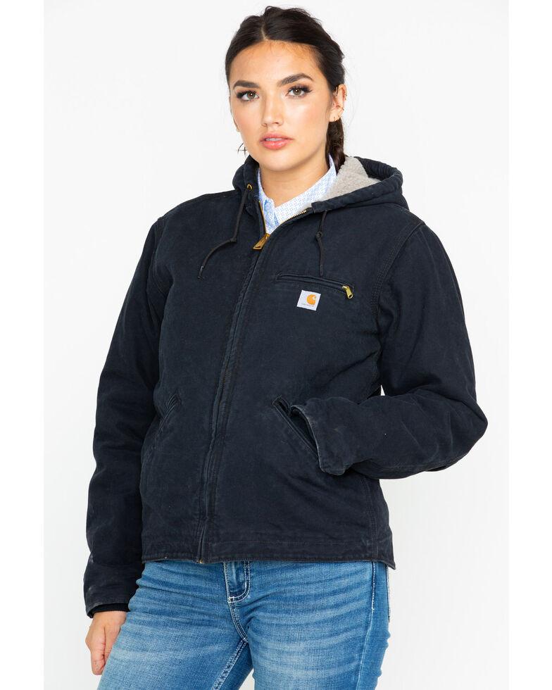 Carhartt Women S Sandstone Sierra Sherpa Lined Jacket