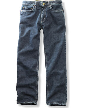 Timberland PRO Men's Stonewash Grit-N-Grind Denim Work Pants , Blue, hi-res