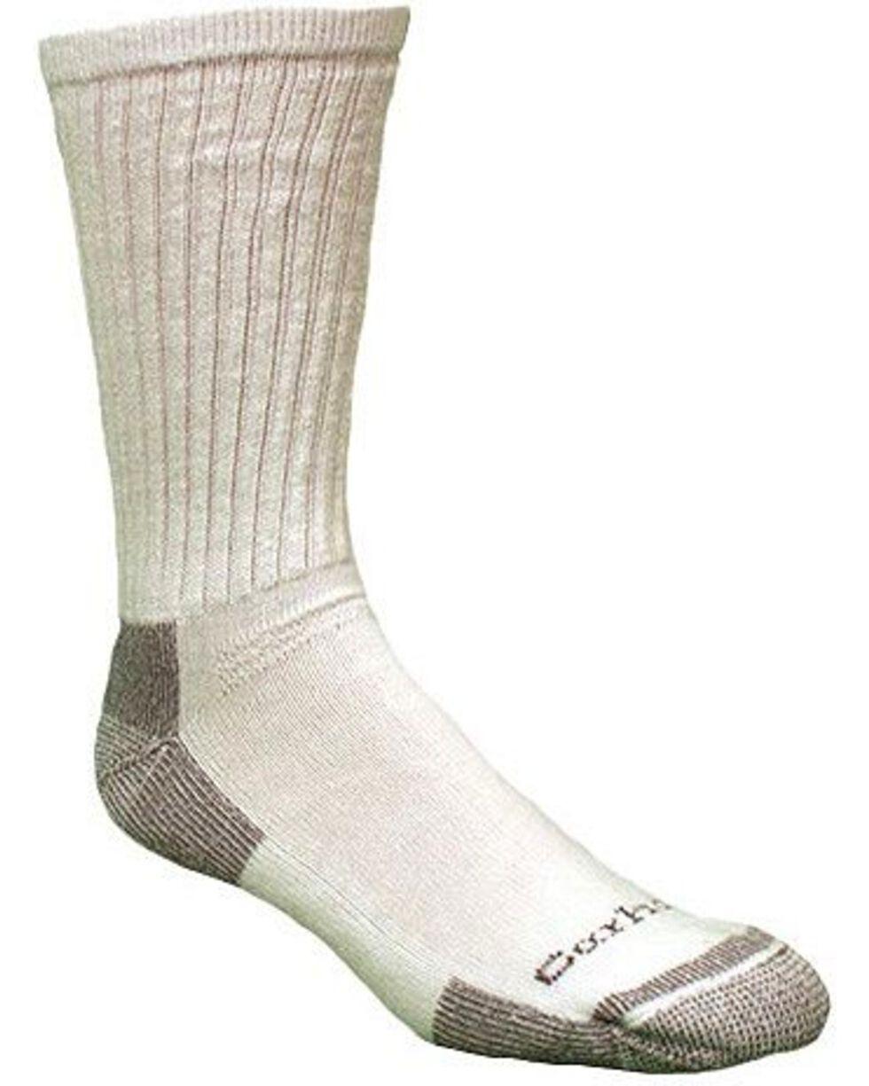 Carhartt Men's 3 Pack All Season Socks, White, hi-res