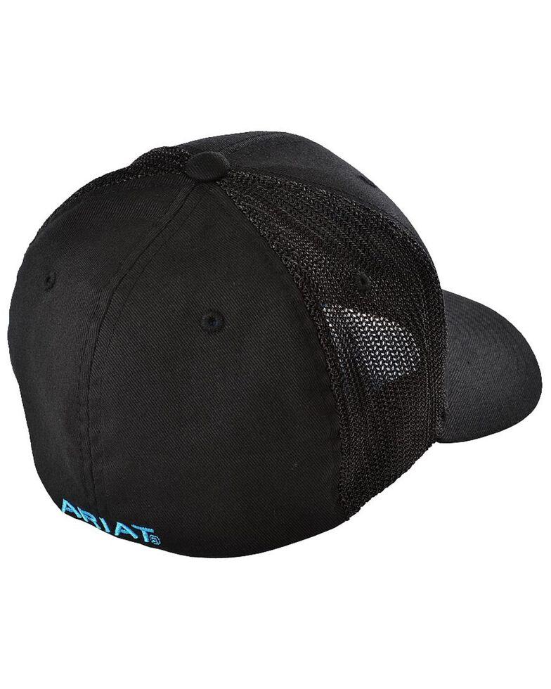 Ariat Men's Blue Logo Embroidered Cap, , hi-res