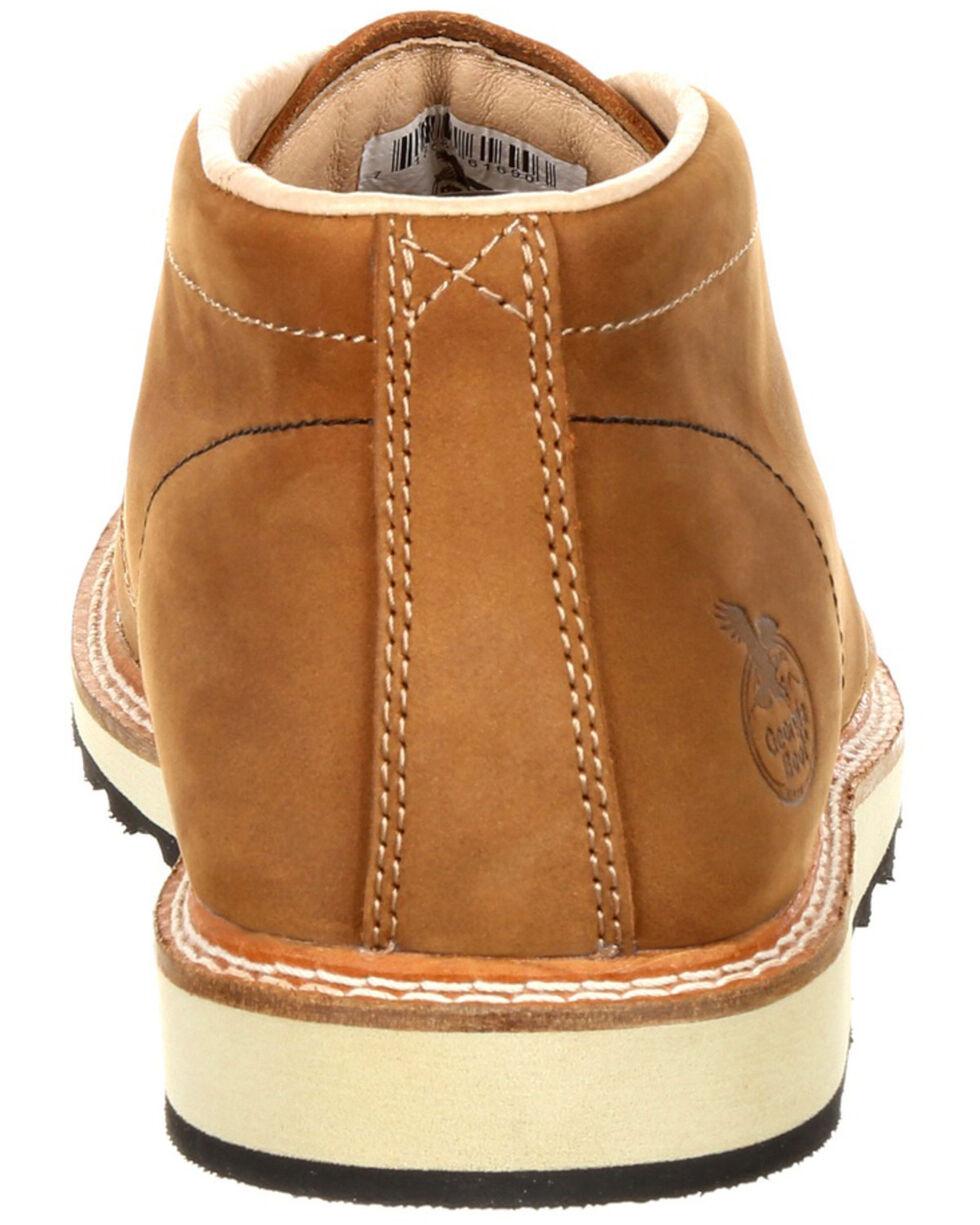 Georgia Boot Men's Small Batch Chukka Boots - Round Toe, Russett, hi-res