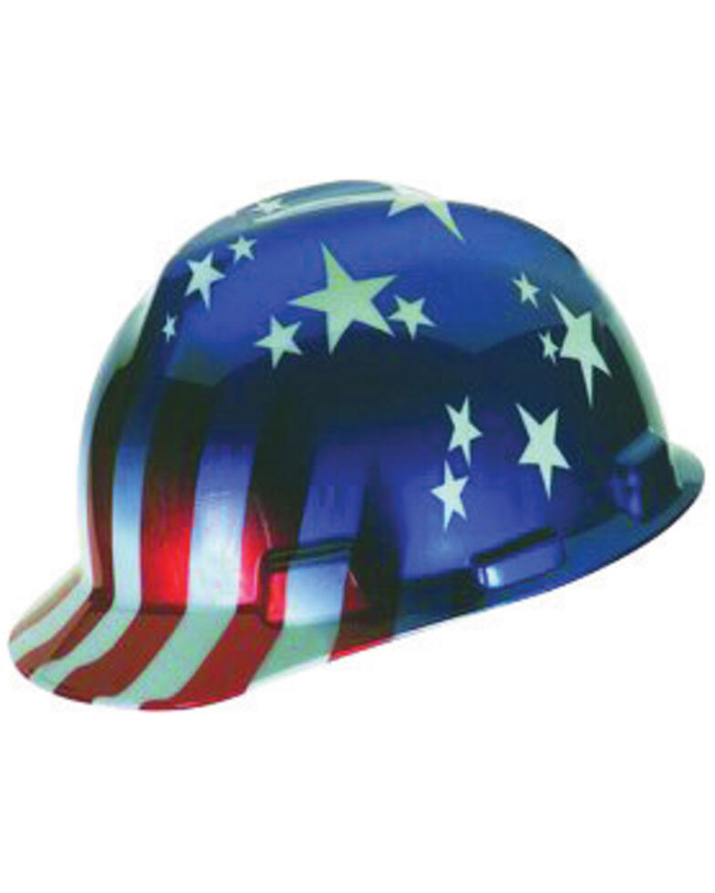MSA Stars and Stripes Hard Hat, Multi, hi-res