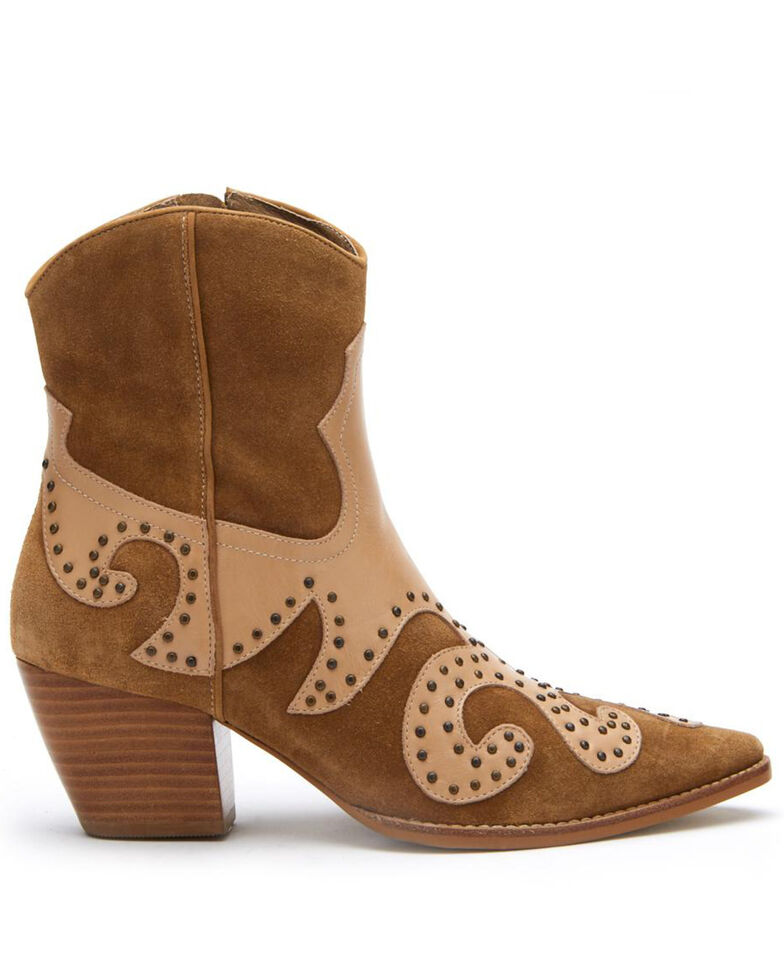 Matisse Women's Fawn Could Be Fashion Booties - Pointed Toe, Tan, hi-res