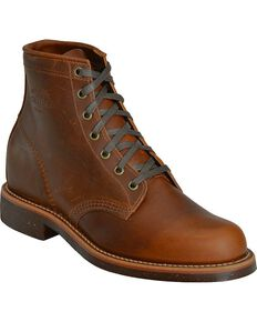 "Chippewa Men's 6"" General Utility Service Boots, Bay Apache, hi-res"