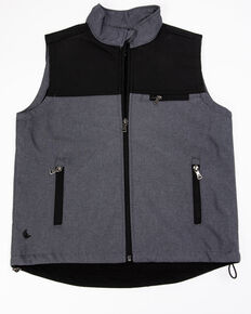 Cody James Boys' Wrightwood Bonded Vest , Grey, hi-res