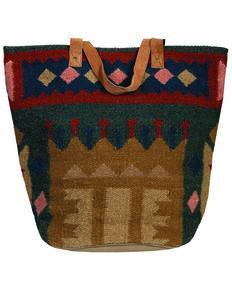 Scully Women's Woven Design Handbag, Multi, hi-res