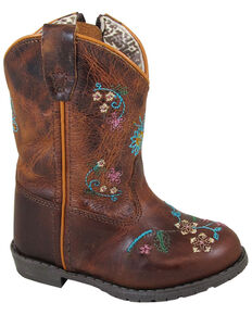 7731fa550599 Smoky Mountain Toddler Girls Florence Western Boots - Round Toe