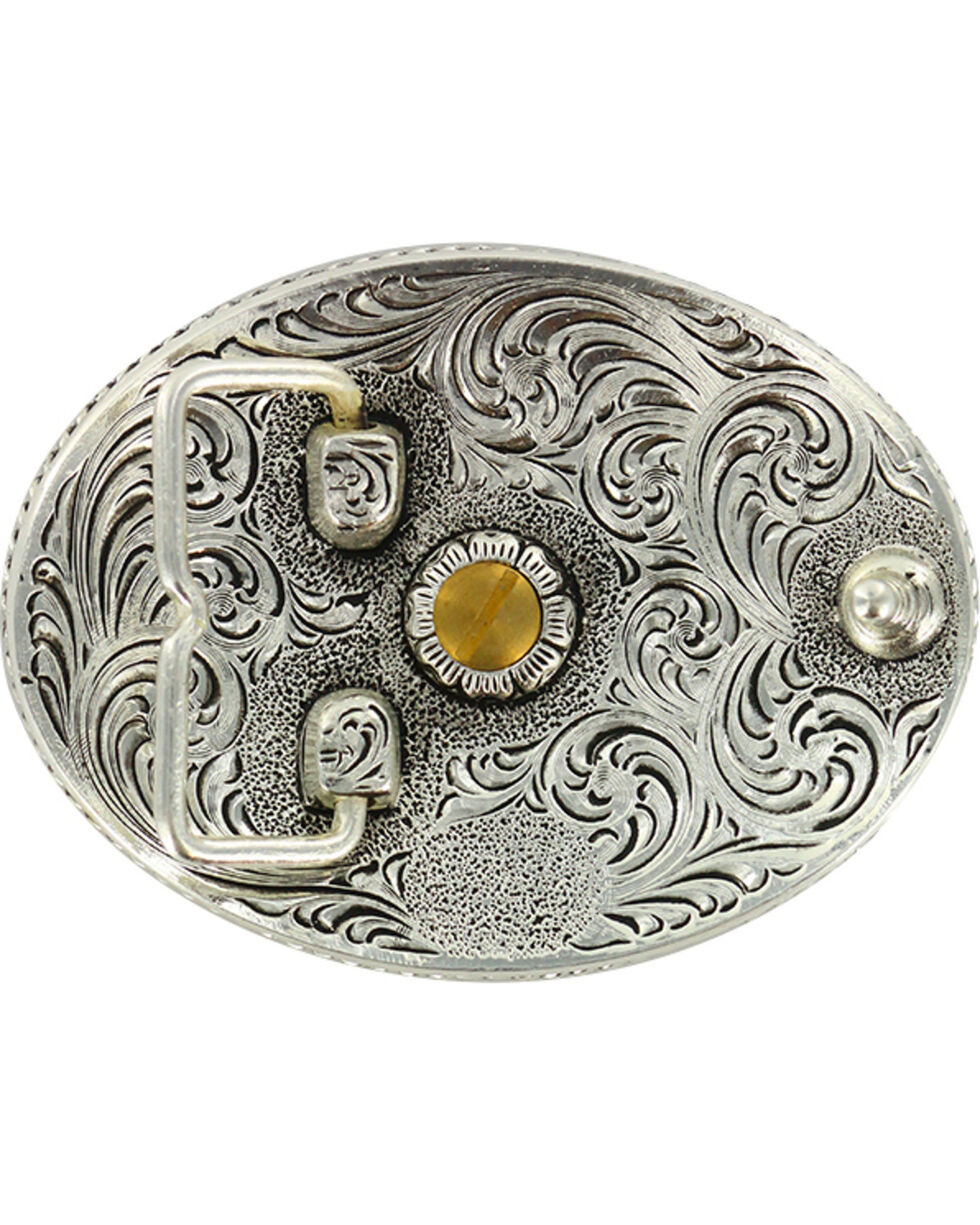 Cody James® Dual Tone Oval Louisiana Buckle, Multi, hi-res
