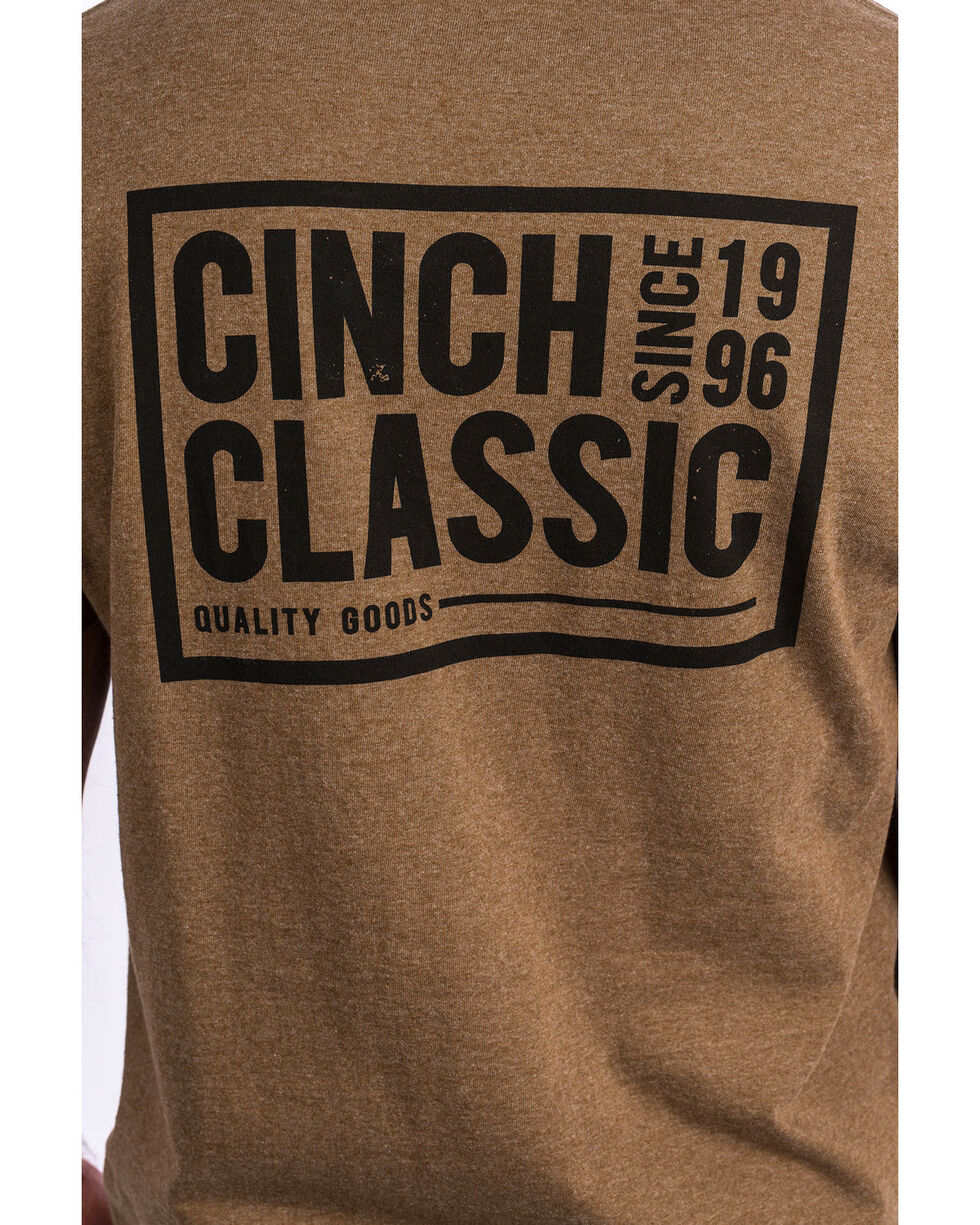 Cinch Men's Back Print Logo Graphic T-Shirt , , hi-res