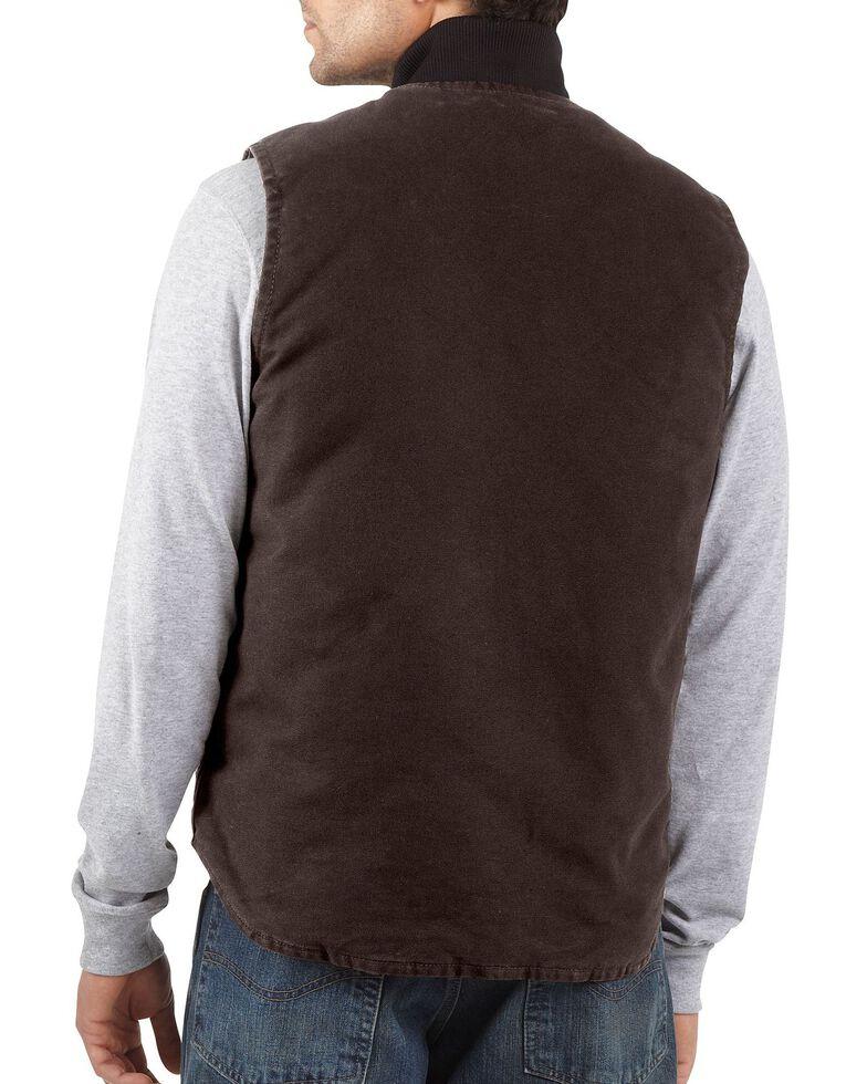 Carhartt Men's Sandstone Arctic Quilt Lined Vest, Dark Brown, hi-res