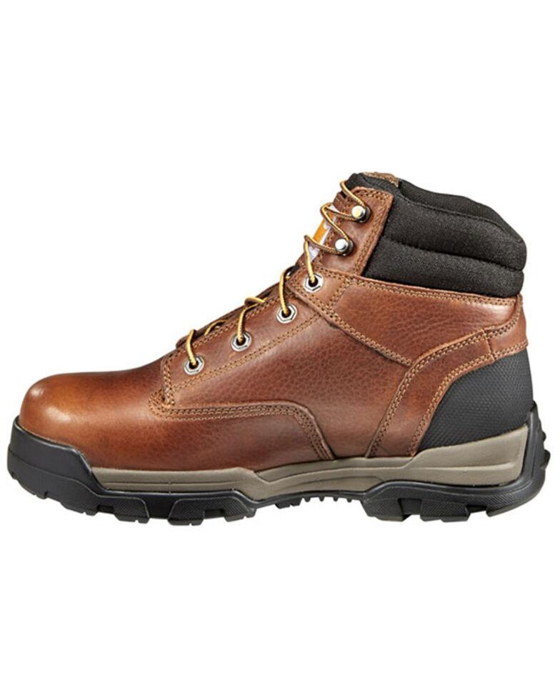 Carhartt Men's Ground Force Work Boots - Composite Toe, Brown, hi-res