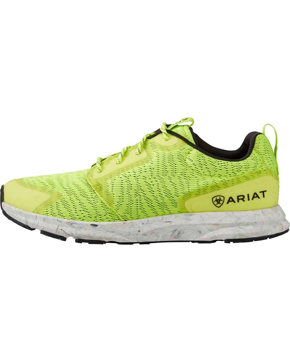 Ariat Women's Fuse Neon Sneakers, Sunshine, hi-res