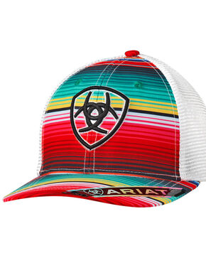 Ariat Women's Multi-Color Serape Trucker Cap, Multi, hi-res