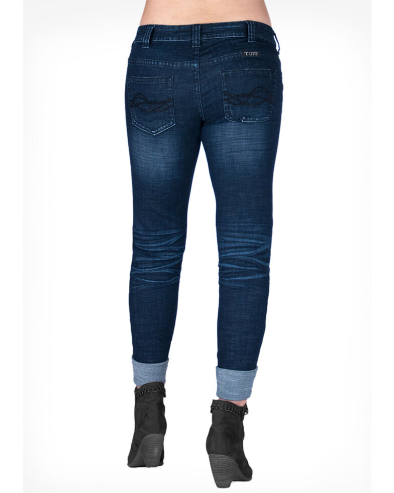 Cowgirl Tuff Women's Extreme Skinny Jeans, Blue, hi-res