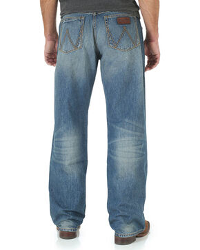 Wrangler Men's Limited Edition Relaxed Straight Leg Jeans, Indigo, hi-res