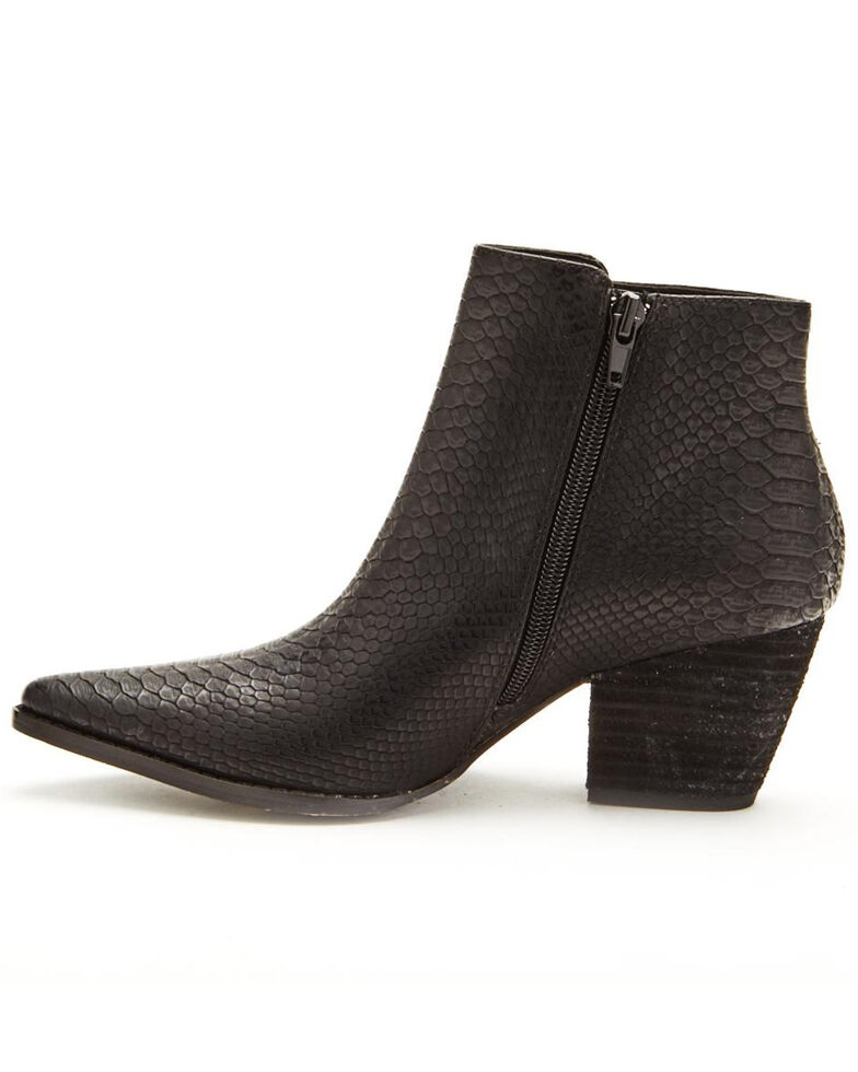 Coconuts by Matisse Women's Astoria Fashion Booties - Pointed Toe, Black, hi-res