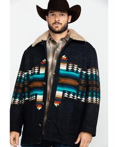 Pendleton Men's Brownsville Pathfinder Shearling Coat , Black, hi-res