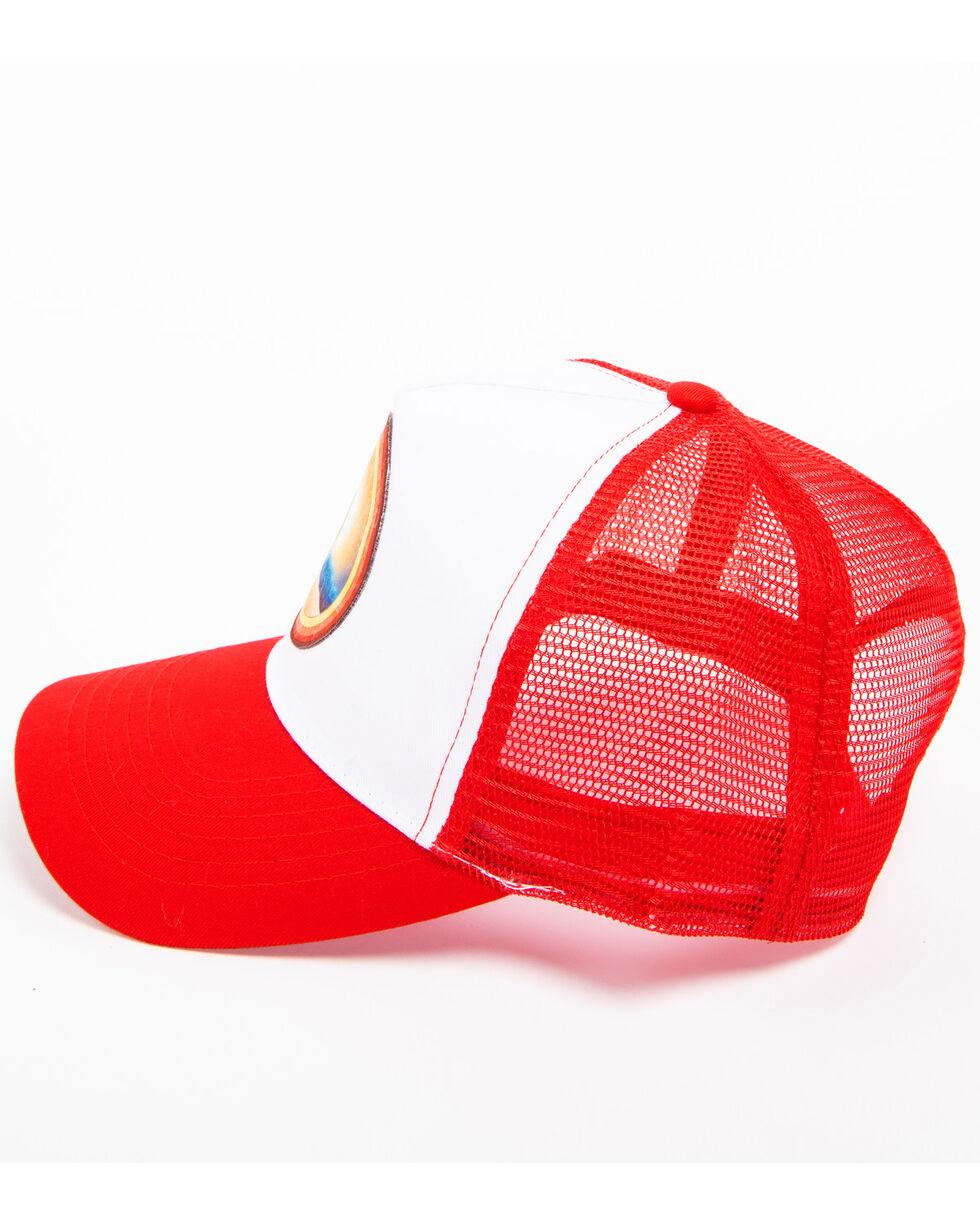 Cody James Men's Desert Sunrise Trucker Hat, Red, hi-res