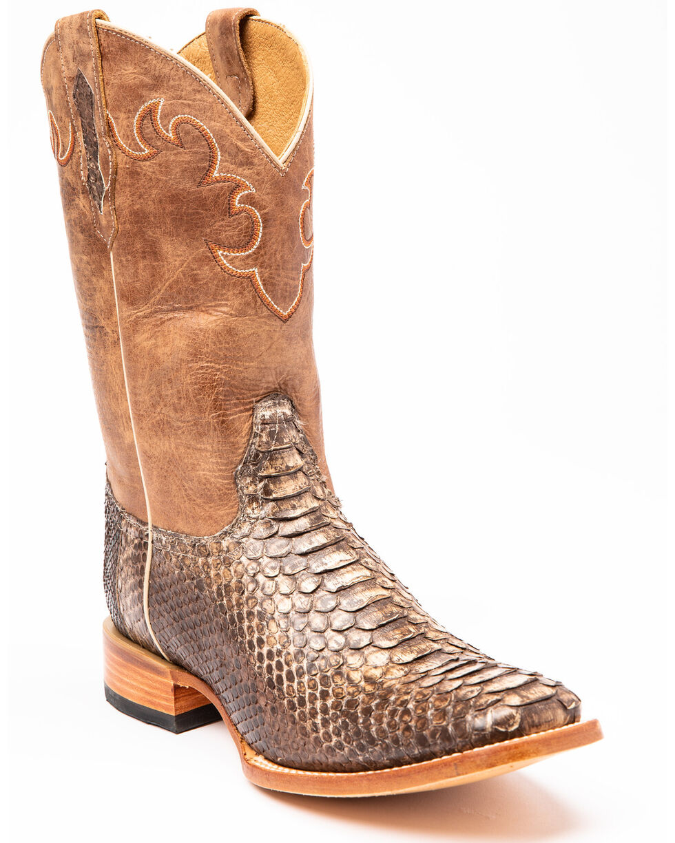 Fringed Sienna Cowboy Boot Shoes for 18 inch American Girl Doll Clothes