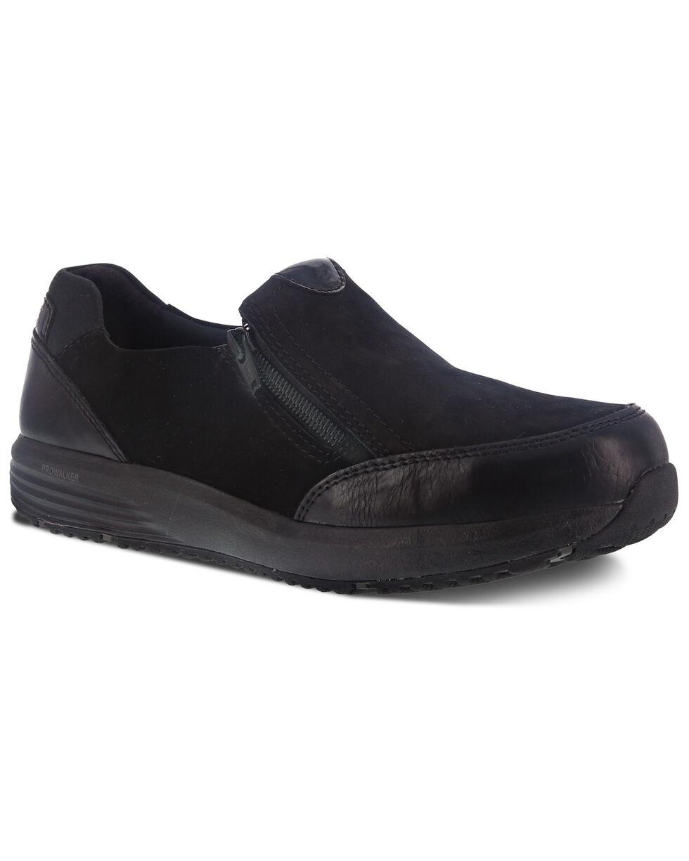 Reebok Women's Trustride Slip Resisting Work Boots - Steel Toe, Black, hi-res