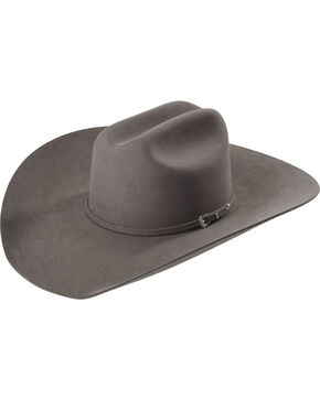 Rodeo King Men's 7X Fur Felt Cowboy Hat, Grey, hi-res