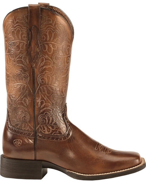Ariat Women's Remuda Western Boots, Brown, hi-res