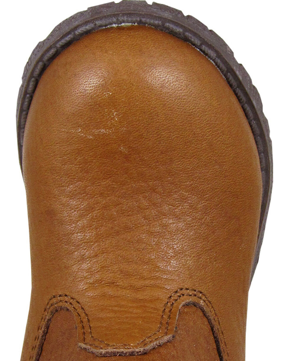 Smoky Mountain Toddler Boys' Jackson Western Boots - Round Toe, Brown, hi-res
