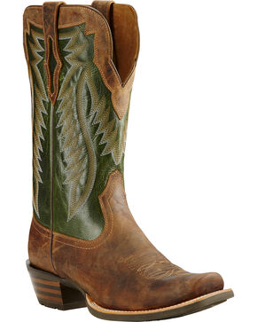 Ariat Men's Futurity Western Boots, Tan, hi-res