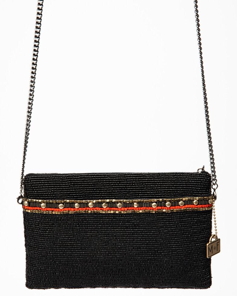 Mary Frances Women's Mini Girl Tribe Beaded Crossbody Handbag, Black, hi-res