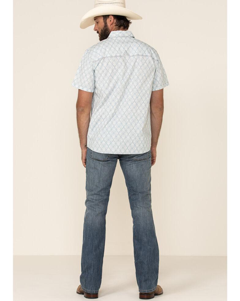 Levi's Men's 527 Chipped Med Modern Slim Bootcut Jeans , Blue, hi-res