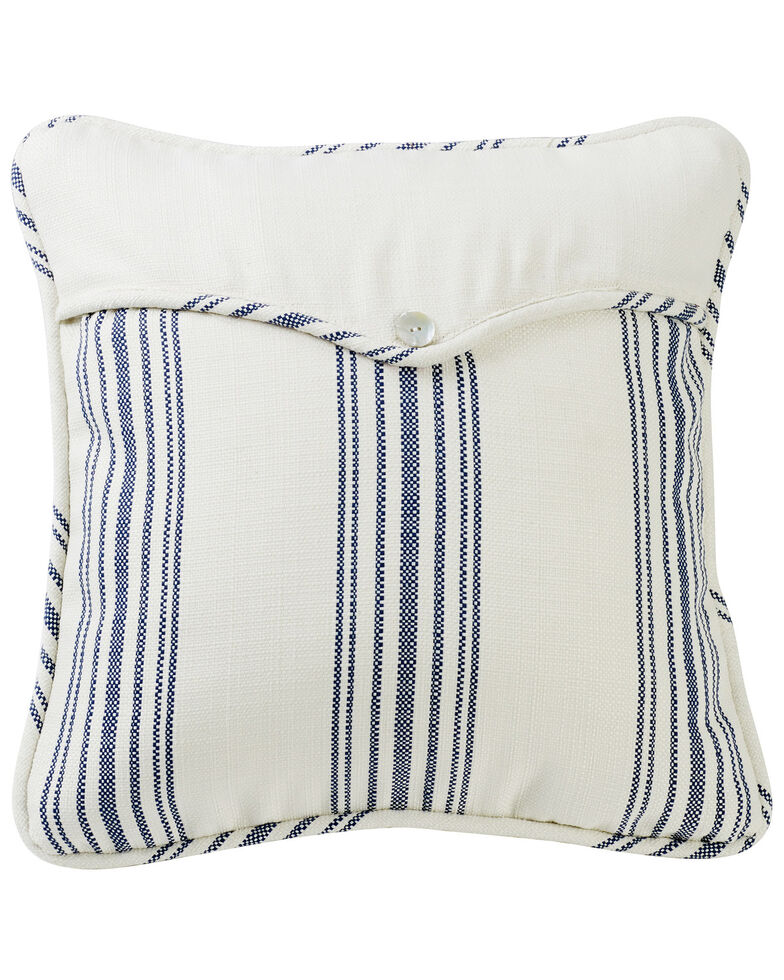 HiEnd Accents Prescott Navy Stripe Envelope Pillow, Navy, hi-res