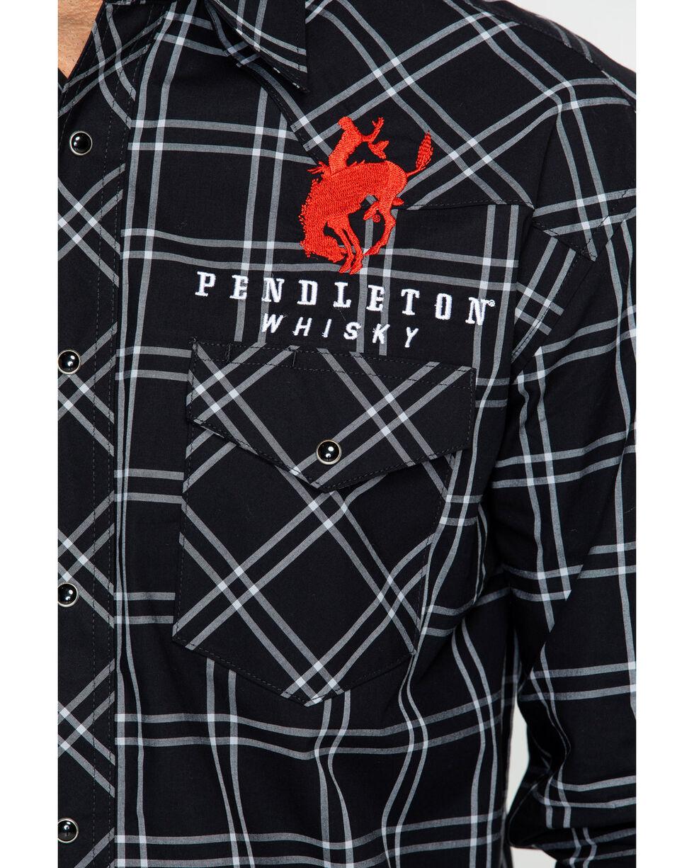 Wrangler Men's Long Sleeve Pendleton Whiskey Logo Shirt , , hi-res
