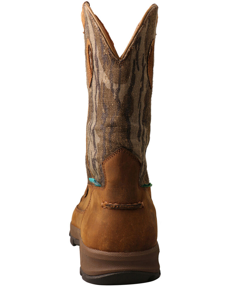 Twisted X Men's Hiker Western Work Boots - Soft Toe, Brown, hi-res