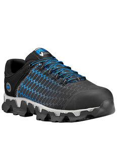 Timberland Men's Powertrain Athletic Work Shoes - Alloy Toe, Black, hi-res