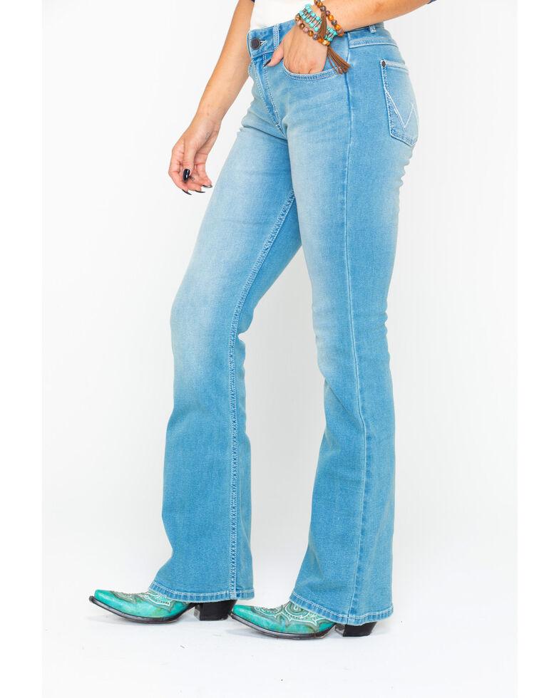 Wrangler Retro Women's Sadie Light Low Rise Boot Jeans , Blue, hi-res