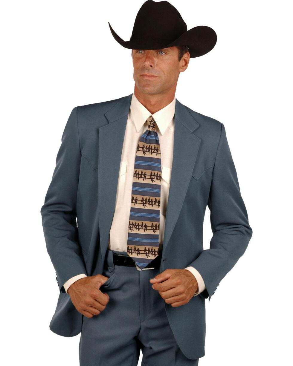Circle S Lubbock Suit Coat - Big and Tall, Gunmetal, hi-res