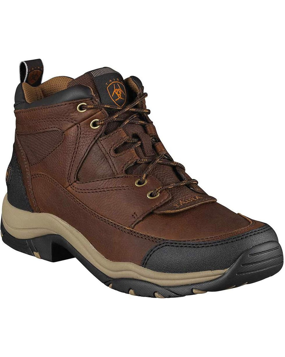 Ariat Men's Terrain Endurance Boots, Brown, hi-res