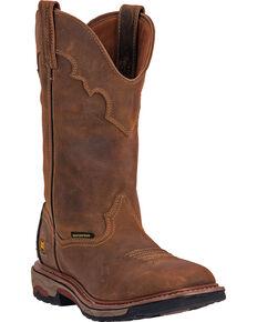 Dan Post Men's Blayde Work Boots, Saddle Tan, hi-res