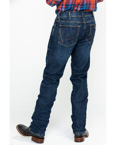 Wrangler Retro Men's Dawson Slim Straight Jeans, Blue, hi-res