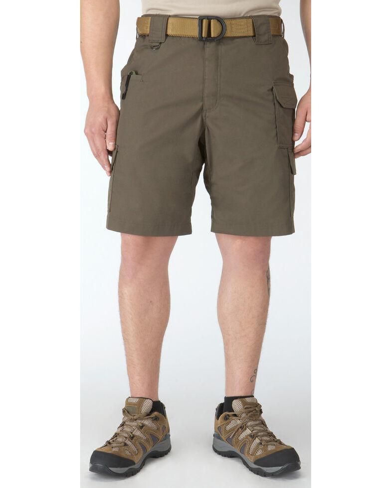 """5.11 Tactical Taclite Pro 9.5"""" Shorts, Dark Brown, hi-res"""