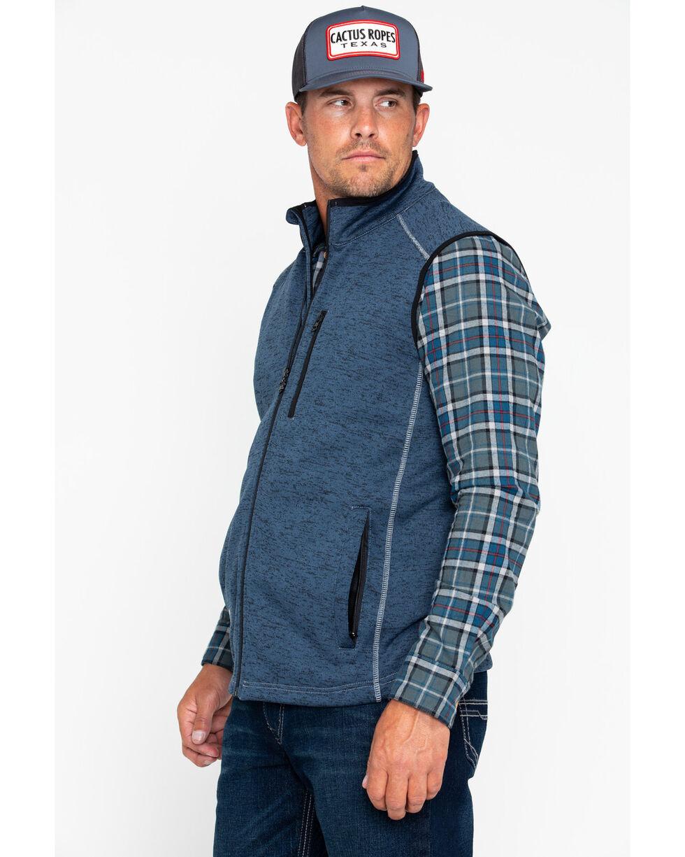 Cowboy Hardware Men's Simple Speckle Vest , Navy, hi-res